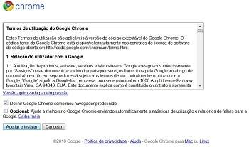 Como instalar o Google Chrome