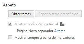 como mudar o tema do google chrome